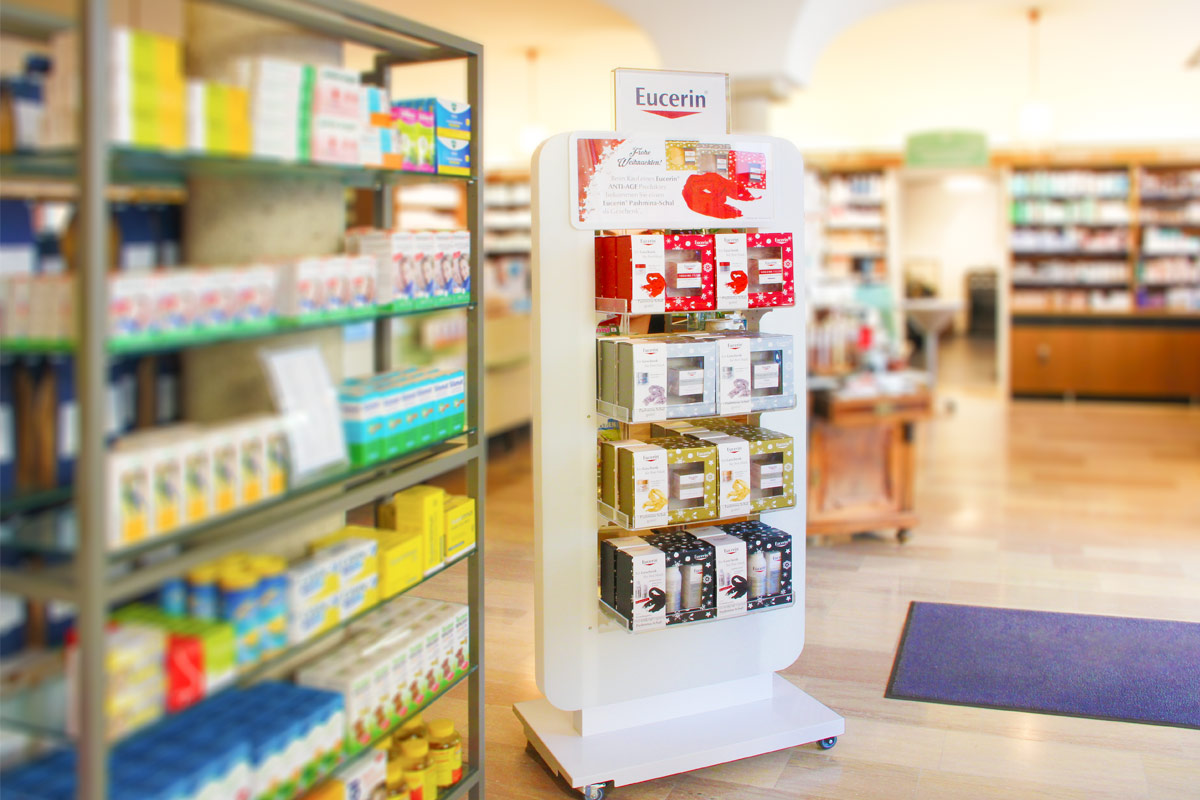 POS Bodendisplay Eucerin