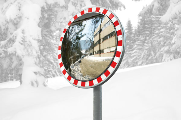 road traffic safety mirror